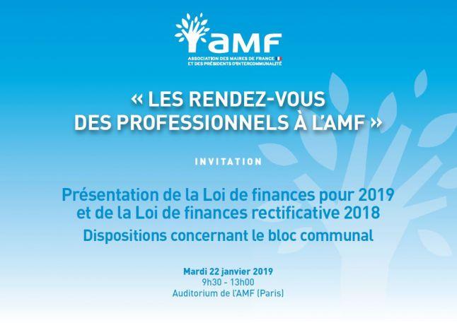 Presentation De La Loi De Finances Pour 2019 Et De La Loi De