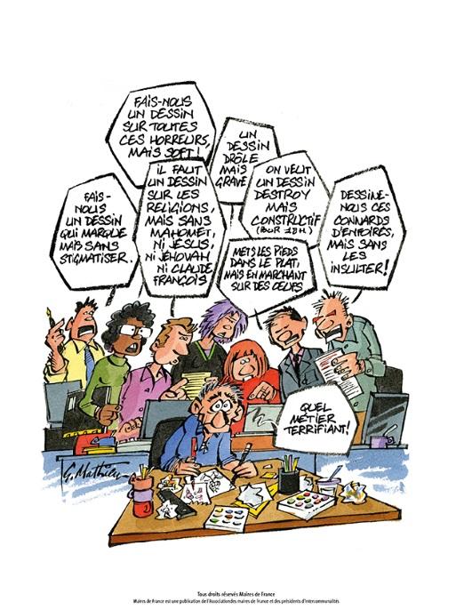 Les Dessins Humoristiques De G Mathieu Maire De France