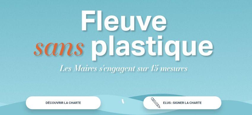 """Charte """"Mon territoire s'engage : rivières et fleuves sans plastique, océan protégé""""  Appel au maires pour lutter contre la pollution plastique"""