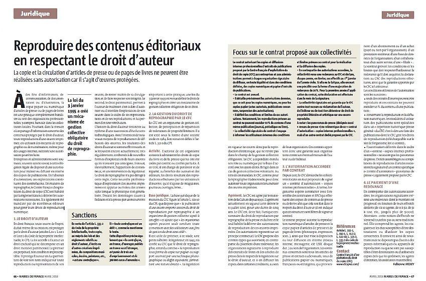 Reproduire Des Contenus Editoriaux En Respectant Le Droit D Auteur